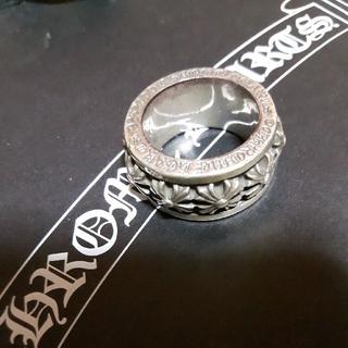 クロムハーツ(Chrome Hearts)のスピナーCHXスクロールリング CH(リング(指輪))