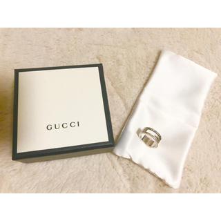 グッチ(Gucci)のGUCCI グッチ リング  指輪 シルバー(リング(指輪))