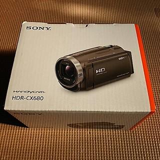 新品 ソニー ビデオカメラHDR-CX680