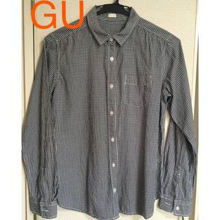 ジーユー(GU)のGU チェック柄コットンシャツ(シャツ/ブラウス(長袖/七分))