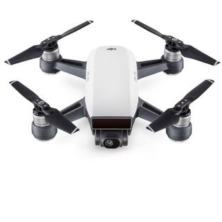 【Spark アルペンホワイト】 DJI 2軸ジンバルカメラ搭載ドローン(ホビーラジコン)
