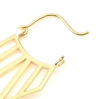 パリゴ(PARIGOT)のパリゴ a.v.max(エーヴィーマックス) ゴールドデザインピアス(ピアス)
