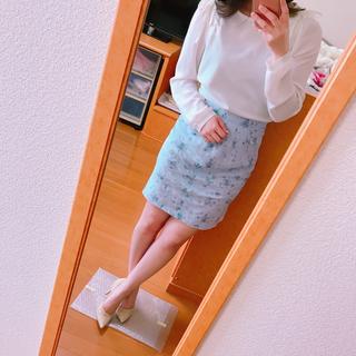 アリスバーリー(Aylesbury)のアリスバーリー   スカート 花柄(ひざ丈スカート)