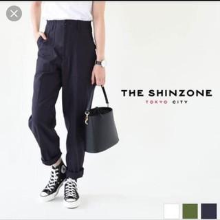 シンゾーン(Shinzone)のSHINZONE ベイカーパンツ ネイビー(ワークパンツ/カーゴパンツ)