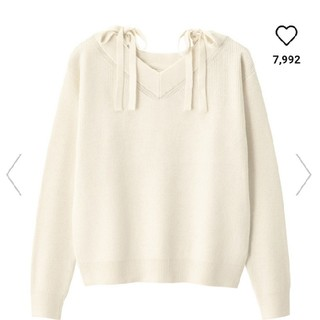 GU - GU Vネック セーター