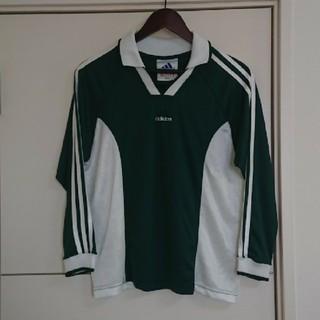 アディダス(adidas)のadidas アディダス ゲームシャツ Tシャツ USA製90s古着(Tシャツ/カットソー(七分/長袖))