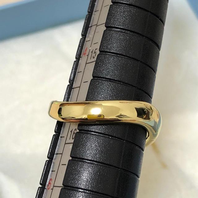 レディースリング♡ステンレスリング ゴールド レディースのアクセサリー(リング(指輪))の商品写真