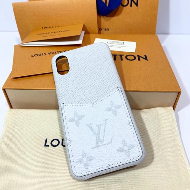 LOUIS VUITTON - 新品 ルイヴィトン iPhone スマホ ケース カバー モノグラム ホワイトの通販
