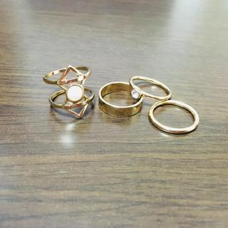 グレイル(GRL)のリング4点セット(リング(指輪))