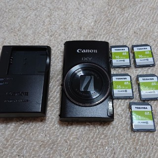 キヤノン(Canon)のCanon IXY650 SDカード5枚付(コンパクトデジタルカメラ)