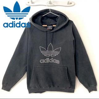 アディダス(adidas)のadidas アディダス 90年代 90s パーカー ロゴ ビッグシルエット(パーカー)