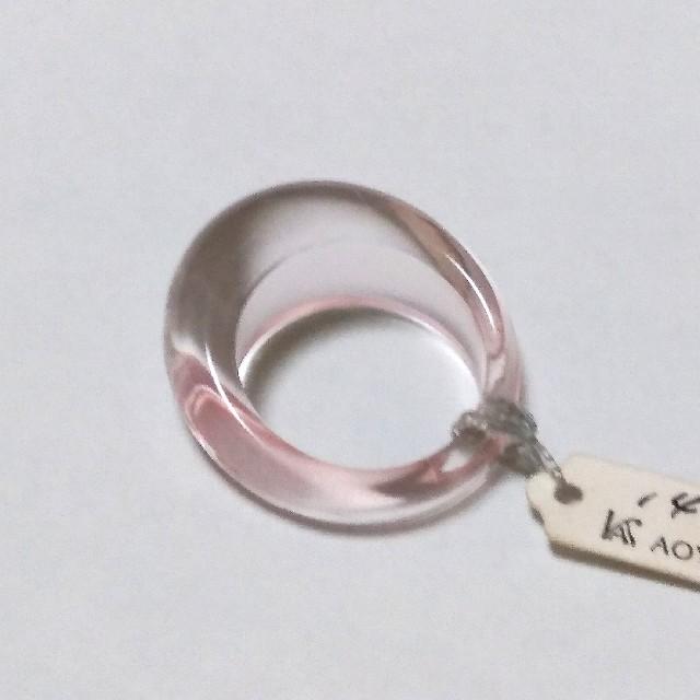 オールアクリルリング レディースのアクセサリー(リング(指輪))の商品写真