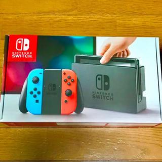 ニンテンドウ(任天堂)のNintendo Switch 本体 ニンテンドースイッチ)(家庭用ゲーム本体)