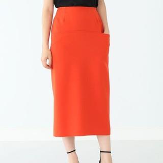 デミルクスビームス(Demi-Luxe BEAMS)の【美品】サイドポケットタイトスカート(ひざ丈スカート)