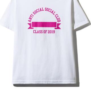 アンチ(ANTI)の2019 antisocialsocialclub Tシャツ サイズS 色グレー(Tシャツ/カットソー(半袖/袖なし))