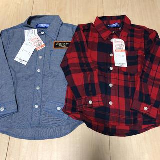 シマムラ(しまむら)の値下げ!新品♡ シャツ セット 110(Tシャツ/カットソー)
