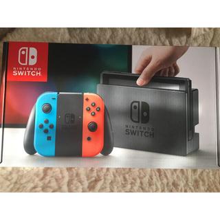 ニンテンドウ(任天堂)のNintendo Switch 任天堂 ニンテンドースイッチ 本体 新品(家庭用ゲーム本体)