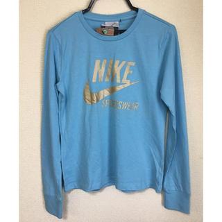 ナイキ(NIKE)の☆新品☆ナイキ NIKE  レディース Tシャツ ロンT Mサイズ(Tシャツ(長袖/七分))