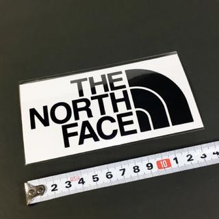 ザノースフェイス(THE NORTH FACE)のノースフェイス ステッカー 1点 ☆ ロゴ ブラック カッティング!(その他)