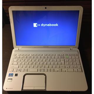 トウシバ(東芝)のノートPC 東芝Dynabook T552/58GW(ノートPC)