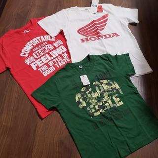 ジーユー(GU)のTシャツ 120 110 キッズ 夏服 ホンダ GU(Tシャツ/カットソー)