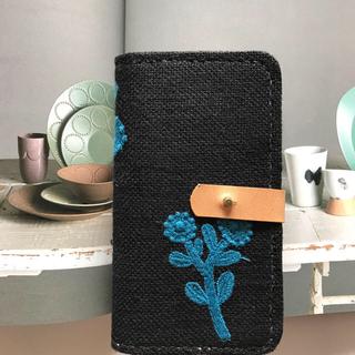 ミナペルホネン(mina perhonen)のミナペルホネン   ハンドメイド手帳型iPhone7ケース(スマホケース)