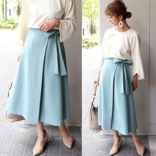 ノーブル(Noble)のNOBLE ラップリボンスカート サイズ36(ロングスカート)