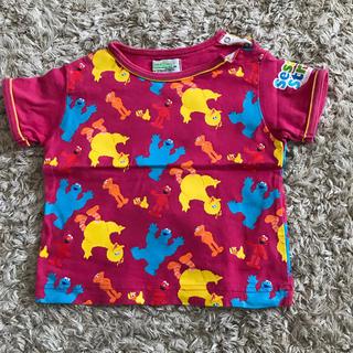 セサミストリート(SESAME STREET)のセサミ☆ピンクTシャツ(Tシャツ)