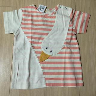 センスオブワンダー(sense of wonder)のベイビーチアー Tシャツ 100(Tシャツ/カットソー)