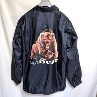 ベアー(Bear USA)の90's Bearバックプリントコーチジャケット(ナイロンジャケット)
