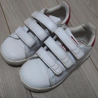 アディダス(adidas)のadidas アディダス スタンスミス キッズ ピンク 15cm(スニーカー)