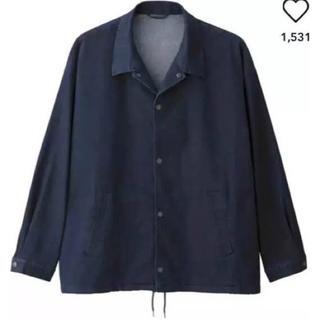 ジーユー(GU)のGU デニムコーチジャケット XL(Gジャン/デニムジャケット)