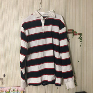 ジーユー(GU)のボーダーシャツ(シャツ)