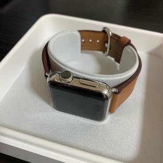 アップルウォッチ(Apple Watch)のApple Watch Series 2 38mm ステンレススチールケース(腕時計(デジタル))