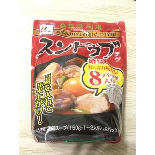 コストコ(コストコ)のスンドゥブチゲ☺️(レトルト食品)