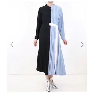 1d7dfceb23d61 ルシェルブルー(LE CIEL BLEU)のle ciel bleu ハーフプリーツドレス 新品 タグ