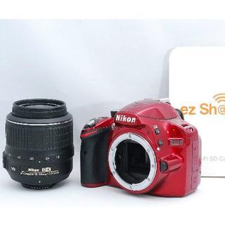 ニコン(Nikon)の☆WiFiSDカードでスマホ転送☆ Nikon ニコン D3200 レンズキット(デジタル一眼)