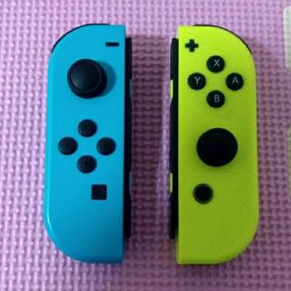 ニンテンドースイッチ(Nintendo Switch)の任天堂スイッチ Joy-Con ネオンイエロー ネオンブルー(携帯用ゲーム本体)