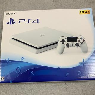 プレイステーション4(PlayStation4)のps4 本体 500GB CUH-2200AB01 ホワイト(家庭用ゲーム本体)