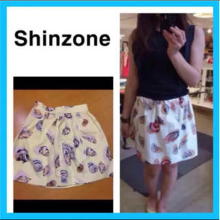 シンゾーン(Shinzone)のシンゾーン  春夏 スカート  柄スカート (ひざ丈スカート)