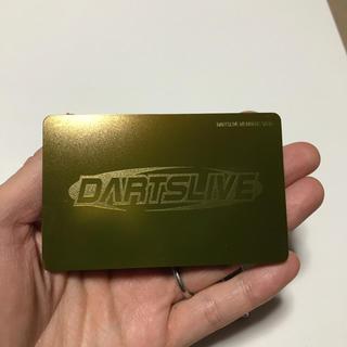 DARTSLIVE カード ゴールド レア(ダーツ)