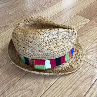 ザラ(ZARA)のzara home kids麦わら帽子 未使用(帽子)