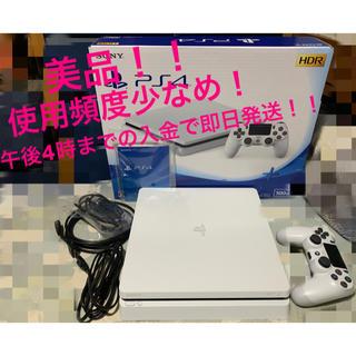 プレイステーション4(PlayStation4)の美品 PS4 slim 500GB CUH-2200A B02(家庭用ゲーム本体)