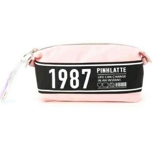 ピンクラテ(PINK-latte)のPINK-latte ピンクラテ  ロゴ スナップポーチ ペンケース 1987(ポーチ)