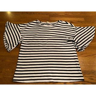 ジーユー(GU)のGU キッズ  トップス 女の子  130(Tシャツ/カットソー)