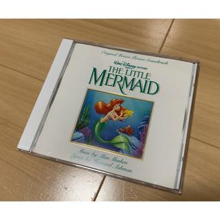 ディズニー(Disney)のCD リトルマーメイド オリジナル・サウンドトラック 英語歌(アニメ)
