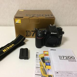 ニコン(Nikon)のNikon D7200 ボディ デジタル一眼レフカメラ(デジタル一眼)