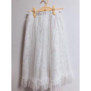 メリージェニー(merry jenny)の【merryjenny】カーテンスカート(ひざ丈スカート)