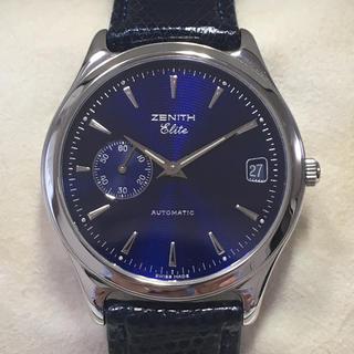 ゼニス(ZENITH)のゼニス エリート クラス6 自動巻(腕時計(アナログ))