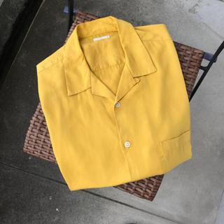 ジーユー(GU)の開襟シャツ(シャツ)